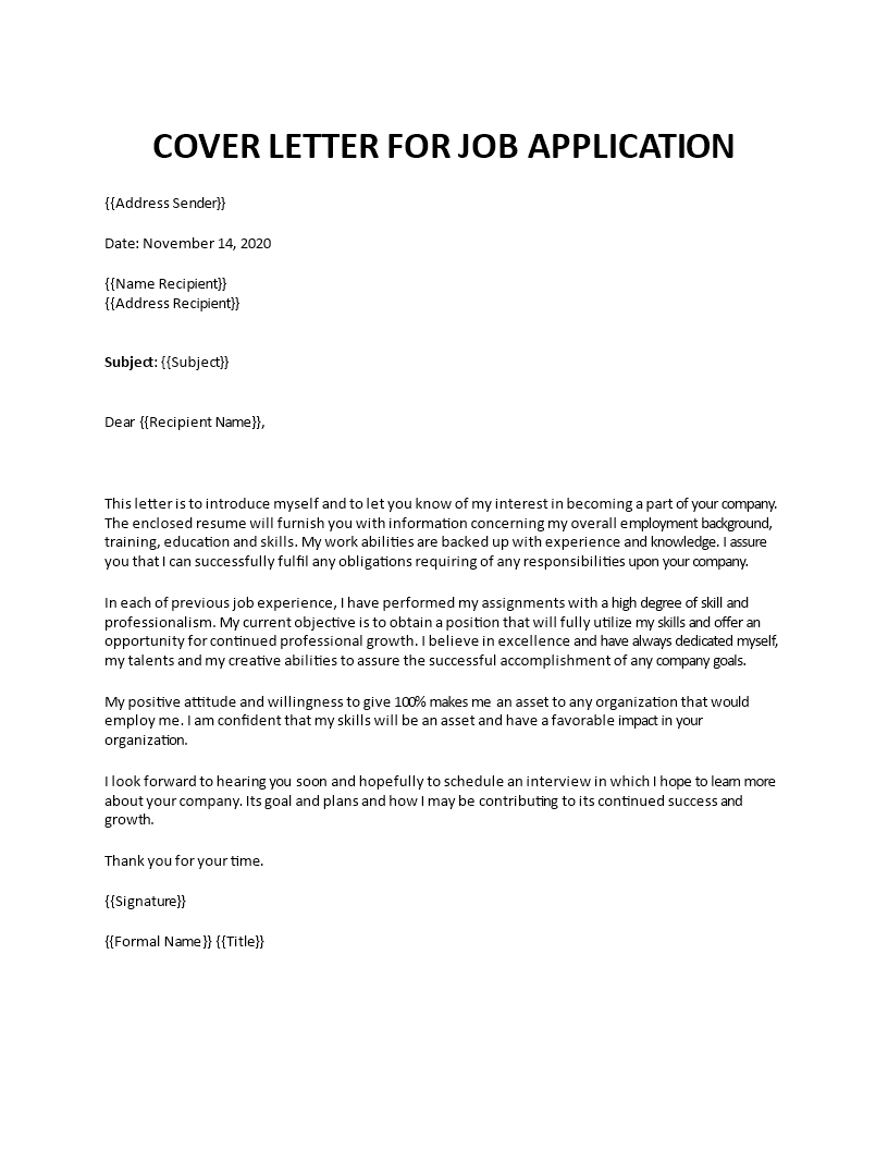 look forward to hear from you in cover letter