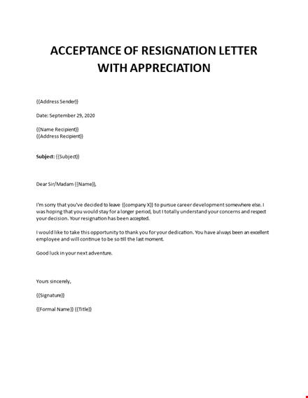 Appreciative Letter Of Resignation from www.bizzlibrary.com