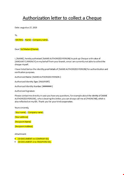 Authorization Letter For Passport Collection from www.bizzlibrary.com